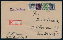 Zonen R.-Brief   Augsburg  (zz8817  ) Siehe Scan - Bizone