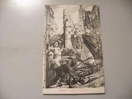 A335.  CPA. Peinture. LENEPVEU. Jeanne D'Arc Sur Le Bûcher.   Beau Plan . Ecrite 1916 - Museos
