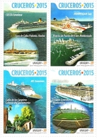 Uruguay 2015 ** SERIE CRUCEROS. See Desc. - Calcio