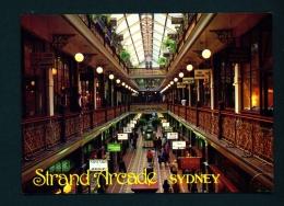 AUSTRALIA  -  Sydney  Strand Arcade  Used Postcard As Scans - Sydney