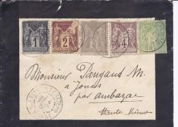 Lettre De PEYRAT LE CHATEAU à AMBAZAC - Briefe U. Dokumente