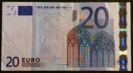 20 EURO TRICHET 2002 SLOVAQUIE/SLOVAKIA E G010 C2 TTB/VF - EURO
