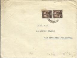 LUC55-Stampa Con Coppia 20 Cent. Democratica 30.5.1945 - 1944-46 Lieutenance & Humbert II