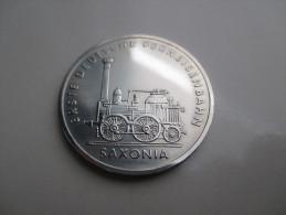 Ddr 5 Mark, 1988 Germany's First Railroad - [ 6] 1949-1990 : RDA - Rép. Démo. Allemande