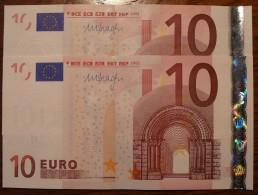 10 EURO DRAGHI 2002 ALLEMAGNE/GERMANY X E006 E1 SPL/AUNC - 10 Euro