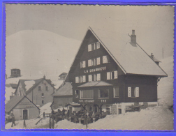 Carte Postale 38. L'Alpe-d'Huez  La Chaumière  Hotel-Restaurant E. Contier Prop.   Trés Beau Plan - Sonstige Gemeinden