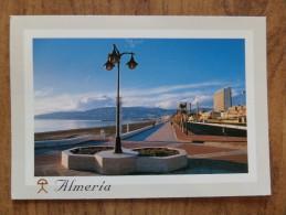 49888 POSTCARD: SPAIN: ANDALUCIA: ALMERIA - Paseo Maritimo. - Almería