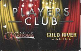 Casino Oklahoma / Gold River Casino - Blank Slot Card - Casino Cards