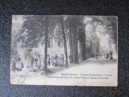 Old Postcard - Satigny (Genève) - Château De Bourdigny - Le Parc Pensionnat Catholique De Jeunes Filles Et Pension... - GE Genève