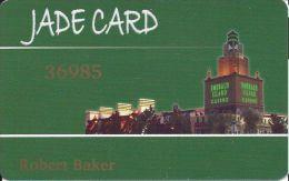 Emerald Island Casino Henderson NV - Jade Card Slot Card (without Insert Arrows) - Casino Cards