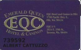 Emerald Queen Casino Fife WA Slot Card - Casino Cards