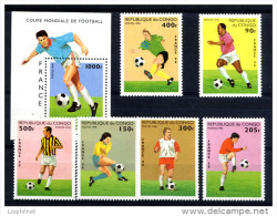 K20700- Set And Bloc MNh Congo 1998-  Worldcup France - Copa Mundial