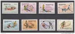 K22701- Set And Bloc MNh Nicaragua 1981 -  Worldcup Spain - 1982 – Espagne
