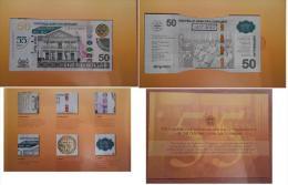 Suriname Surinam - 50 Dollars 2015 ( 2012 ) Special Limited Edition Pick 160 UNC Lemberg-Zp - Surinam