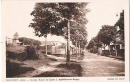 DAGNEUX . 01 . La Grande Rue Allons De Lyon A Amberieu .1942. - Autres Communes