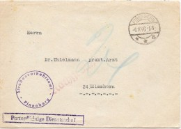 LBL32ALL3- ALLEMAGNE   ZONE D'OCCUPATION PINNEBERG 6/11/1946 - Zonder Classificatie
