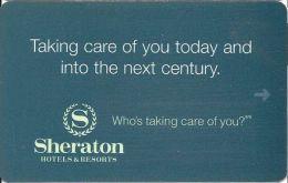 Sheraton Hotel Room Key Card  (PPI) - Hotel Keycards