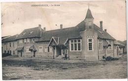 COURBESSEAUX . 54 . Place De La Mairie . Animée.1929 - Francia