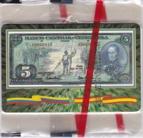 TARJETA DE VENEZUELA DE UN BILLETE DE TIRADA 1500 DE TELEBARNA 2000 NUEVA-MINT (BANKNOTE-BANCONOTE) - Sellos & Monedas