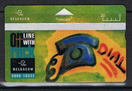 Belgacom On Line With Rock Serienummer 510E - Belgique