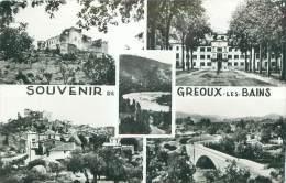 04 - Souvenir De GREOUX-les-BAINS - Gréoux-les-Bains