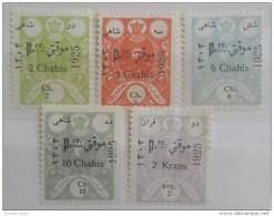 E11l IRAN 1925 Mint Hinged Stamps - Iran
