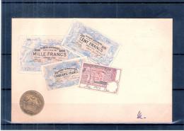 Représentations Monnaie Et Billets De Belgique - CP Belgique (à Voir) - Monnaies (représentations)