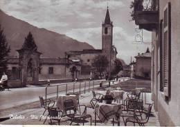 Delebio, Tavoli Di Bar In Via Nazionale Anni 50 - Italia