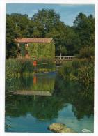 CERIZAY--Le Moulin De La Branle Sur La Sèvre Nantaise (animée,pêcheur ),cpsm 15 X 10 N°0212 éd Combier - Cerizay