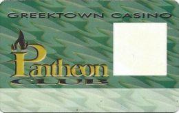 Greektown Casino Detroit MI Pantheon Club Slot Card - Casino Cards