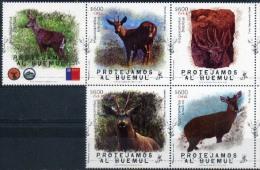 Chile 2015 ** Protejamos Al Huemul (Hippocamelus Bisulcus). Fauna En Peligro. See Desc. - Cile