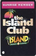 Chip-In Island Resort Casino Harris MI - Sunrise Member Slot Card - Casino Cards