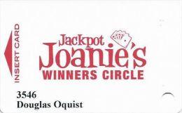 Jackpot Joanie's Casino Slot Card - Casino Cards