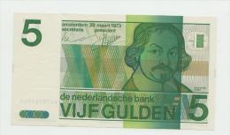 Netherlands 5 Gulden 1973 UNC NEUF Pre-Euro Banknote P 95 - [2] 1815-… : Reino De Países Bajos