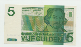 Netherlands 5 Gulden 1973 UNC NEUF Pre-Euro Banknote P 95 - [2] 1815-… : Koninkrijk Der Verenigde Nederlanden