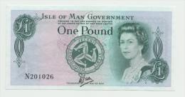 Isle Of Man 1 Pound 1983 AUNC++ P 38 - 1 Pound