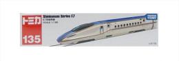 Shinkansen Series E7 1/188  ( Tomica Long Type ) - Modeltreinen