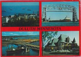 Usa °° Minnesota Multivues De Duluth 4 Photos écrite18-08-1986 ° T-P - Duluth