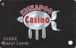 Kickapoo Casino Harrah OK Slot Card (Printed) - Casino Cards