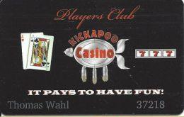 Kickapoo Casino Harrah OK 1st Issue Slot Card - Casino Cards