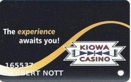 Kiowa Casino Oklahoma Slot Card - Casino Cards