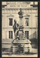 CPA Longjumeau, Monument D'Adam - Longjumeau