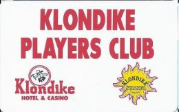 Klondike Hotel & Casino Henderson NV - Players Club Slot Card - Casino Cards