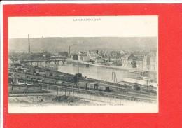 51 EPERNAY Cpa Vue Générale La Gare Et Pont Sur La Marne                 13 Bracquemart - Epernay