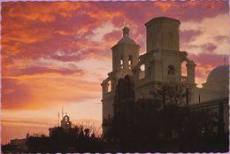 Usa °° Arizona - Tucson San Xavier Del Bac Mission - Dentelée écrite Non Datée. - Tucson