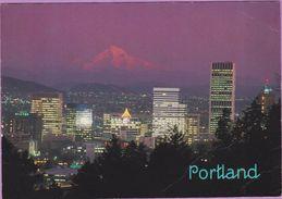 Usa °° Orégon - Portland Le Mont Hood - écrite Non Datée. - Portland