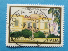 ITALIA USATI 2002 - TURISTICA CAPO D'ORLANDO - RIF. G 1849 LUSSO - 6. 1946-.. Repubblica
