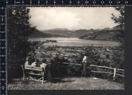 Lago Di Caldonazzo - Panorama - Animata - Viaggiata 1957 - LID - Italia