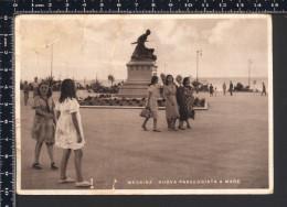 Messina - Nuova Passeggiata A Mare Animata - Viaggiata 1942 Ma Francobollo Asportato - LID - Messina