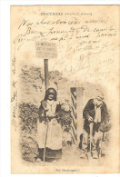 CP Precurseur -1901 - EN BRETAGNE -  La Mendicite Est Interdite    80 - Bretagne